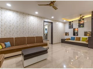 Salon moderne par GREEN HAT STUDIO PVT LTD Moderne