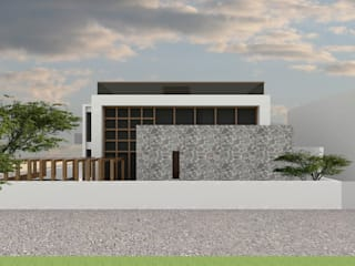 Proposed Bungalow at Barwaha Madhya Pradesh by Bodhivraksh Design Studio Modern