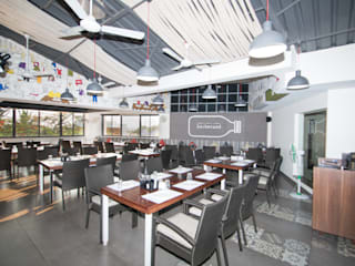 Completed Commercial Project - Barbecued:  Gastronomy by Atom Interiors