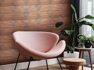 Pladec - Painéis de Madeira Mini Textura:   por CreativeArq,Moderno
