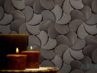 Pladec - Painéis de Madeira Origami: Clínicas  por CreativeArq,Moderno