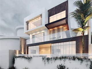 CODIAN CONSTRUCTORA Modern houses White