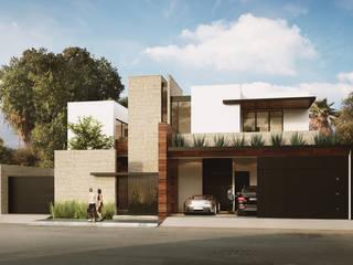 CASA EN VENTA EN LA COLONIA DEL VALLE, SAN PEDRO, NUEVO LEÓN: Casas de estilo moderno por Greici López Bienes Raíces