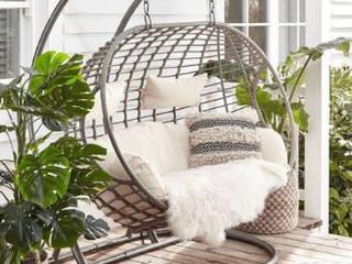 Sillón Colgante Doble:  de estilo  por DINNOVA muebles