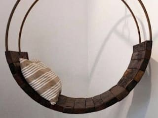 Columpio Circular:  de estilo  por DINNOVA muebles