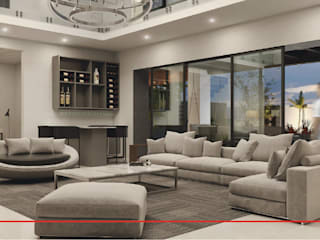 CODIAN CONSTRUCTORA Modern living room