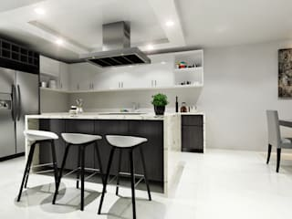 Dining room by CODIAN CONSTRUCTORA