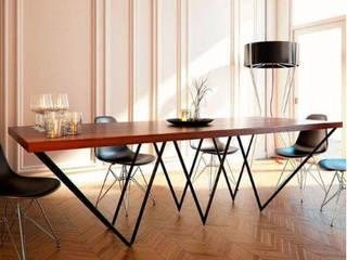 Comedor:  de estilo  por DINNOVA muebles