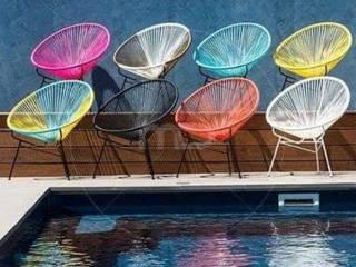 Sillas Acapulco:  de estilo  por DINNOVA muebles