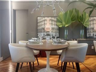 Apartamento LEEDS Salas de jantar modernas por Juliana Damasio Arquitetura Moderno