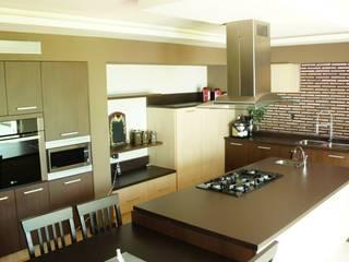 Residencia Zona Plateada: Cocinas de estilo  por VISION+ARQUITECTOS