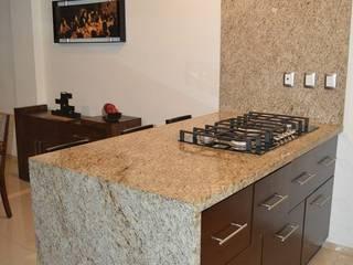 Moderne Küchen von Zona Arquitectura Más Ingeniería Modern