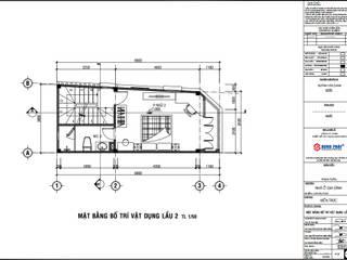 Casas modernas de Công ty TNHH TK XD Song Phát Moderno