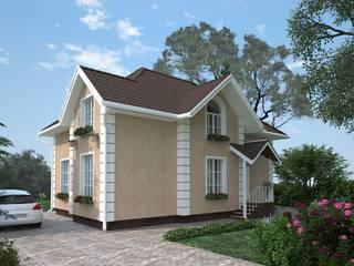 Коттедж в классическом стиле: Дома в . Автор – villarte