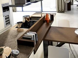 KERLATA Kitchen by Maistri:  Built-in kitchens by ALP Home
