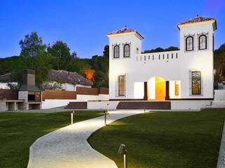Rehabilitación de casa en la huerta de 2J Arquitectura Moderno