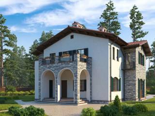 проект дома в СРЕДИЗЕМНОМОРСКОМ стиле от НБ_Частный Девелопмент Средиземноморский