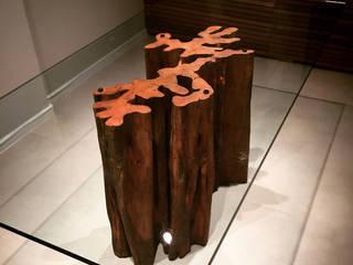 ArboREAL Móveis de Madeira Dining roomTables Parket Wood effect
