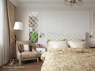 Dormitorios clásicos de Design studio TZinterior group Clásico