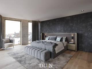 Fine Luxury Master Bedroom, Merckt Groningen: moderne Slaapkamer door DUIN INTERIOR