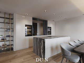 Fine Luxury Kitchen, Merckt Groningen:  Keuken door DUIN INTERIOR