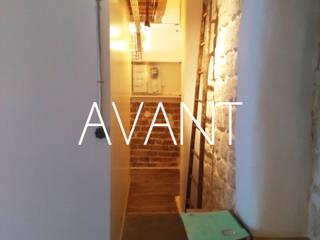 Aménagement d'un 2 pièces de 26 m2 à Paris:  de style  par Aurélia Petitet