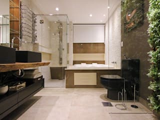 INSIDE ARQUITETURA E DESIGN Modern Bathroom Stone White