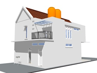 Maison individuelle de style  par MODE KARYA,