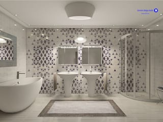 Minimalist bathroom by 'Design studio S-8' Minimalist