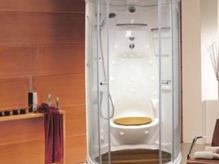 Cabina Yoga con Vapor Formacryl:  de estilo  por Oikos Design