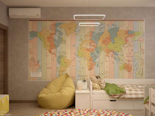 Moderne Kinderzimmer von Студия интерьерного дизайна happy.design Modern