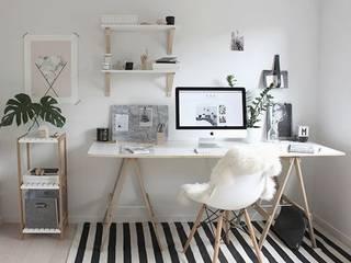 Estudio FK Arquitectura Estudios y oficinas minimalistas de FK Arquitectura & Diseño Minimalista