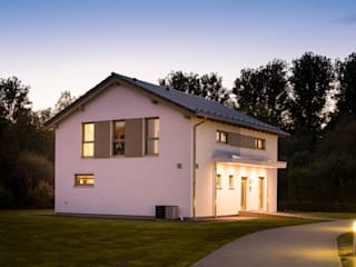 FingerHaus GmbH - Bauunternehmen in Frankenberg (Eder) Prefabricated home White
