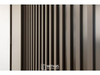 WITHJIS(위드지스) Modern dressing room Aluminium/Zinc Brown