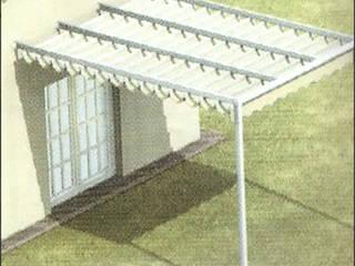 TOLDOS CLOT, S.L. TuinKassen & paviljoenen Aluminium / Zink Wit