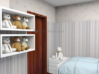 Decordesign Interiores Nursery/kid's roomBeds & cribs Wood White