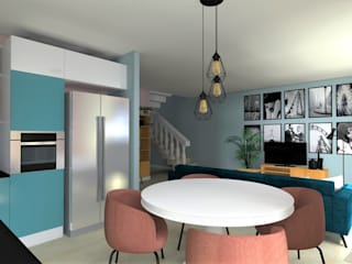 Restyling casa con mobili vintage: Soggiorno in stile  di B.Mid