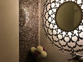 Opulent Powder Room:  Dressing room by Crosscurrents interiors private limited