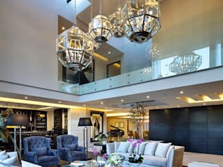 Meseta: Salas de estilo  por Lazza Arquitectos