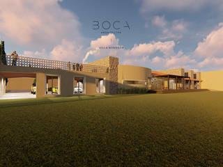 Villa Mendoza: Casas unifamiliares de estilo  por BOCA ARQUITECTOS
