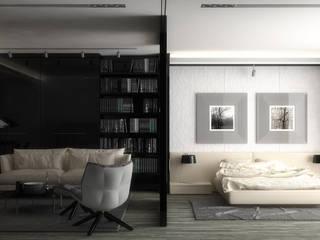 Velette per luce diffusa LED a soffitto da incasso nel cartongesso - EL201:  in stile  di Eleni Lighting