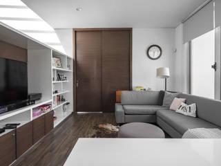 TaAG Arquitectura 客廳 水泥 Grey