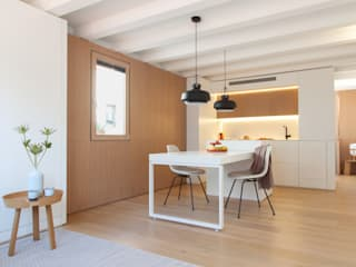 YLAB Arquitectos Scandinavian style dining room