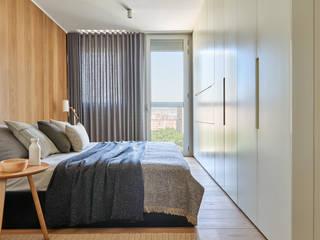 YLAB Arquitectos Scandinavian style bedroom