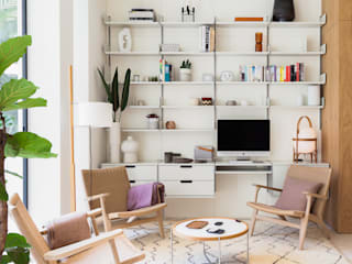 YLAB Arquitectos Scandinavian style living room