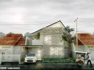 Rumah Roster:  Rumah tinggal  by Scande Architect
