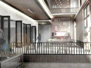 H-House Ruang Keluarga Modern Oleh Scande Architect Modern