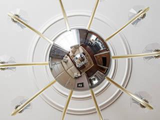 Реализованный дизайн-проект квартиры на Университете: Гостиная в . Автор – Style Home