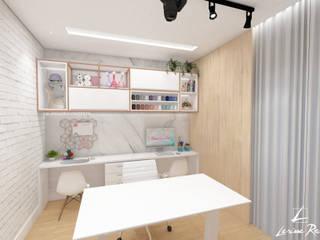 Oficinas de estilo escandinavo de LARISSA REIS ARQUITETURA Escandinavo