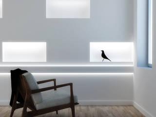Cornice per LED bidirezionale a parete EL302:  in stile  di Eleni Lighting